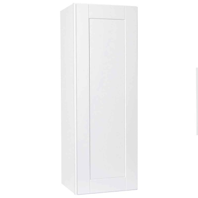 Continental Cabinets Andover 15 In. W. x 42 In. H. x 12 In. D. White Thermofoil Wall Kitchen Cabinet