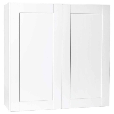 Continental Cabinets Andover 36 In. W. x 36 In. H. x 12 In. D. White Thermofoil Wall Kitchen Cabinet