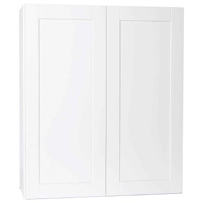 Continental Cabinets Andover 36 In. W. x 42 In. H. x 12 In. D. White Thermofoil Wall Kitchen Cabinet