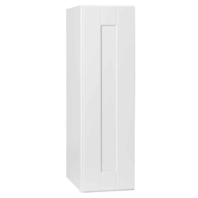 Continental Cabinets Andover 9 In. W. x 30 In. H. x 12 In. D. White Thermofoil Wall Kitchen Cabinet