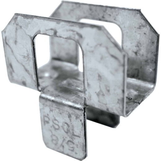 Simpson Strong-Tie 5/8 In. Galvanized Steel 20 ga Plywood Clip