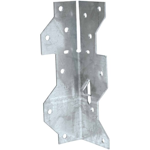 Simpson Strong-Tie Galvanized Steel 1-7/16 In. x 4-1/2 In. 18 ga Framing Angle
