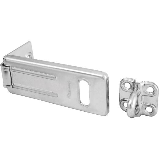 Master Lock 3-1/2 In. Steel Safety Hasp