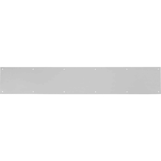 Tell 6 In. x 30 In. Stainless Steel Kick Plate