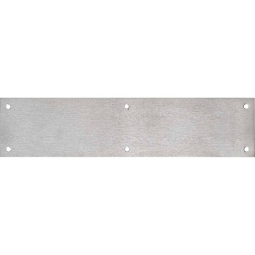 Tell 3.5 In. x 15 In. Aluminum Push Plate