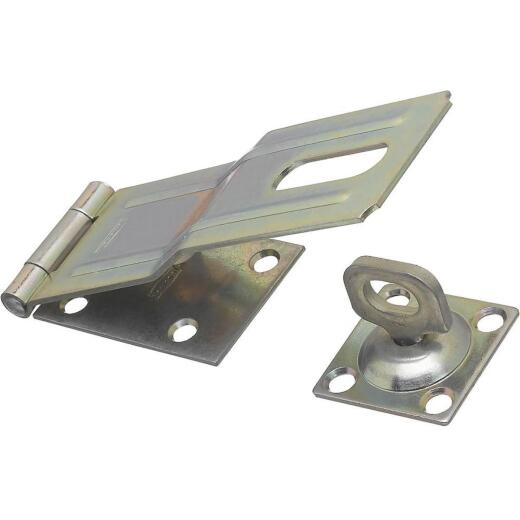 National 6 In. Zinc Swivel Safety Hasp