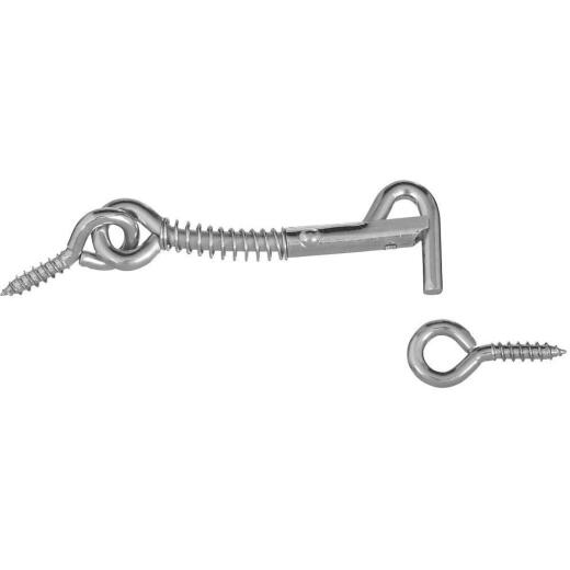 National Steel 2-1/2 In. Safety Gate Hook & Eye Bolt