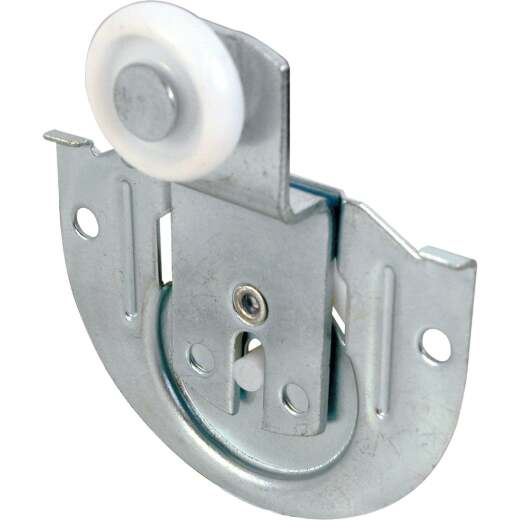 Prime-Line 3/8 In. Offset Adjustable Wheel Bypass Door Roller (2-Count)