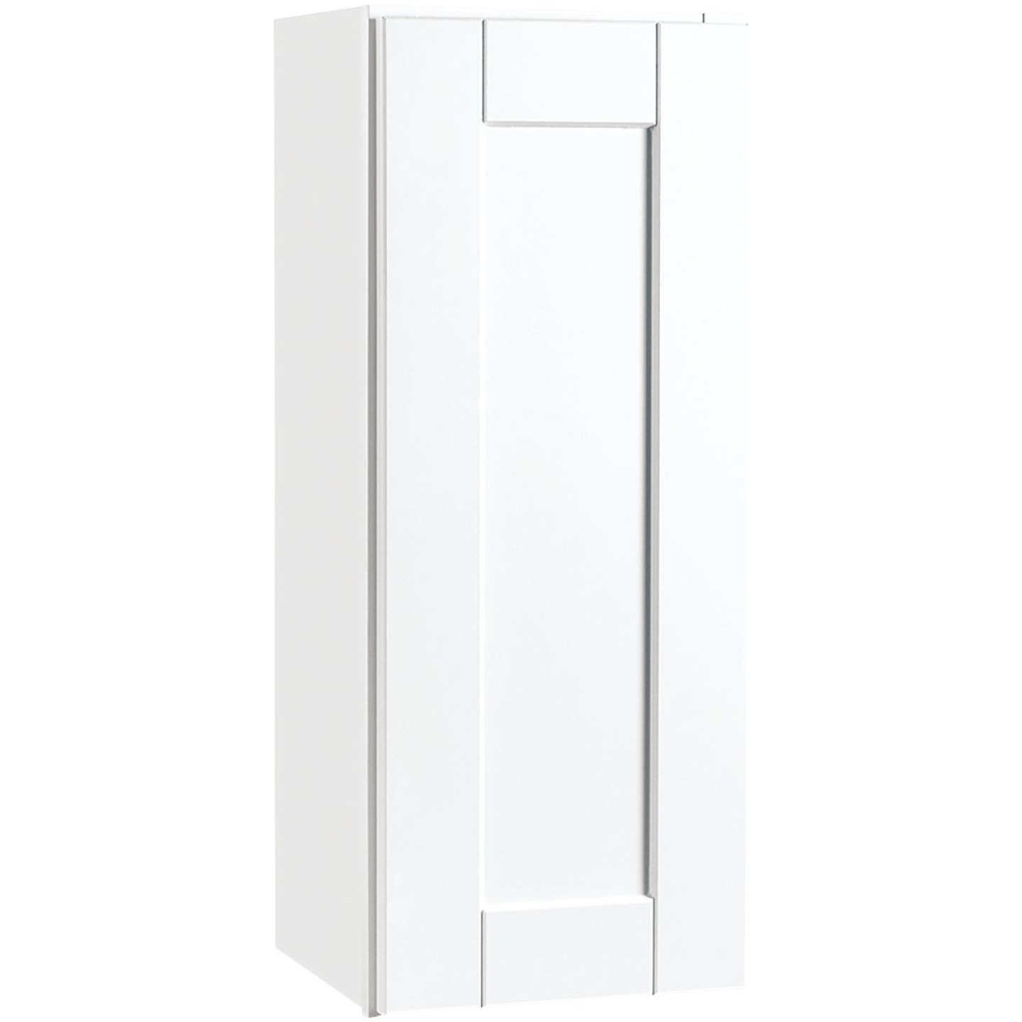 Continental Cabinets Andover Shaker 12 In. W x 30 In. H x 12 In. D White Thermofoil Wall Kitchen Cabinet Image 1