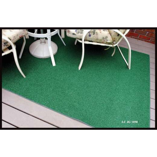 Garland Rug 6 Ft. x 8 Ft. Indoor/Outdoor Artificial Grass Area Rug