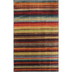 Mohawk Home Boho Stripe Multi-Color 5 Ft. x 8 Ft. Area Rug Image 1