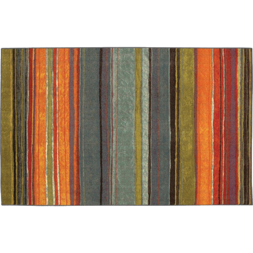 Mohawk Home Rainbow Multi-Color 5 Ft. x 8 Ft. Area Rug