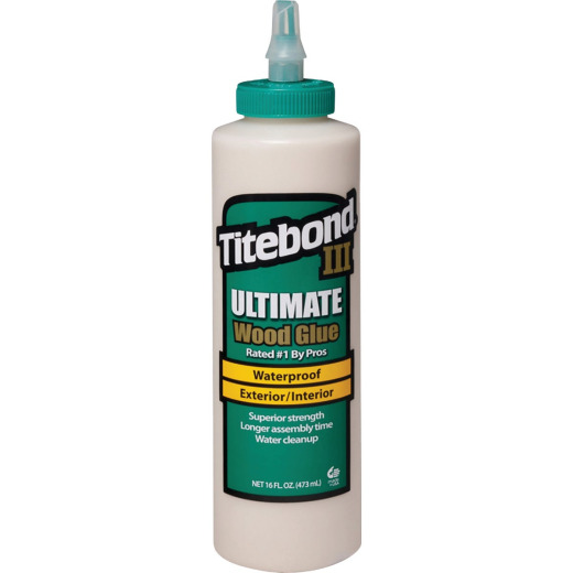 Titebond III 16 Oz. Ultimate Waterproof Wood Glue