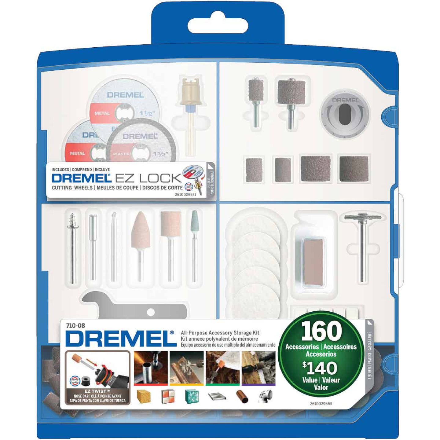 Dremel All-Purpose Rotary Tool Accessory Kit (160-Piece) Image 1