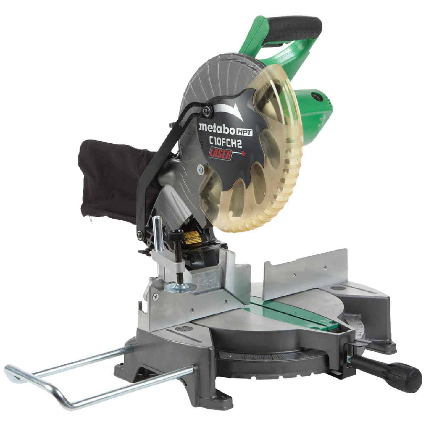 Metabo HPT 10 In. 15-Amp Compound Miter Saw with Laser Image 1