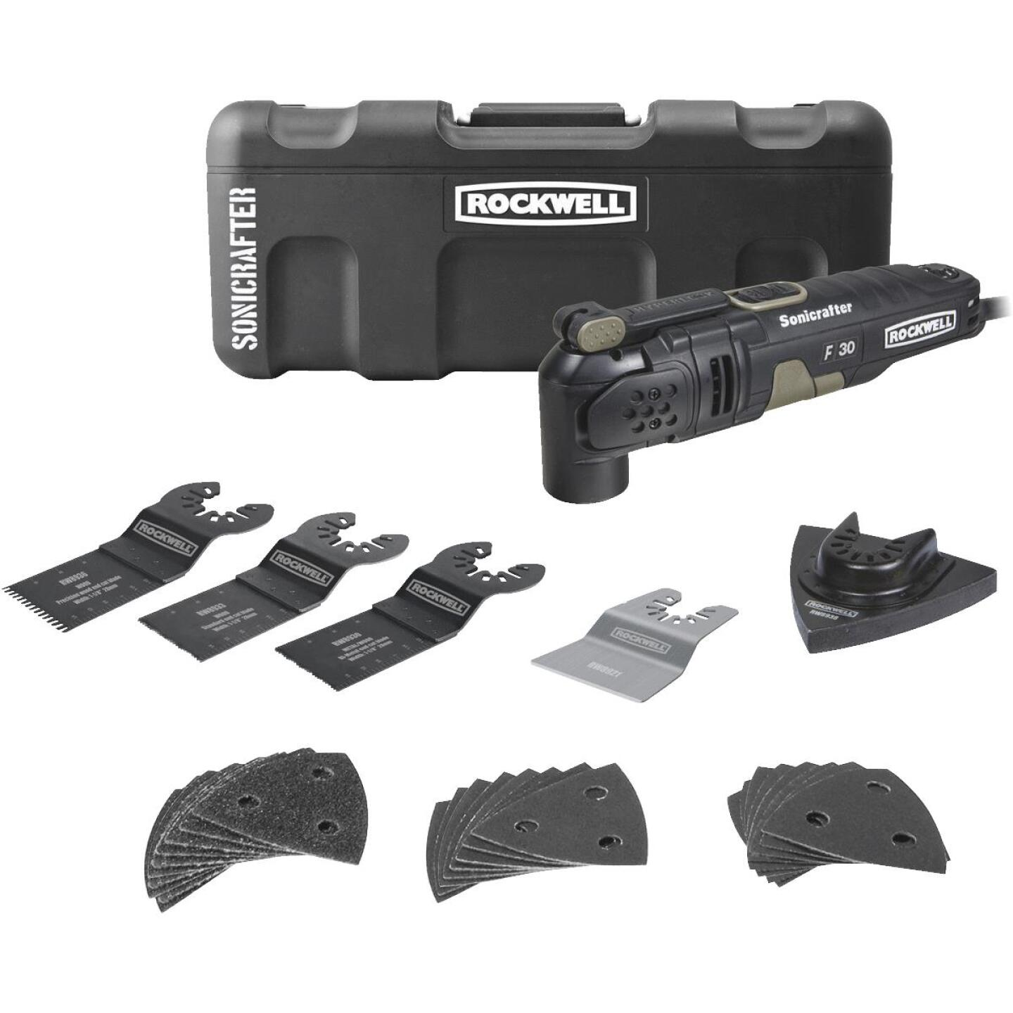 Rockwell Sonicrafter 3.5-Amp Oscillating Tool Kit Image 1