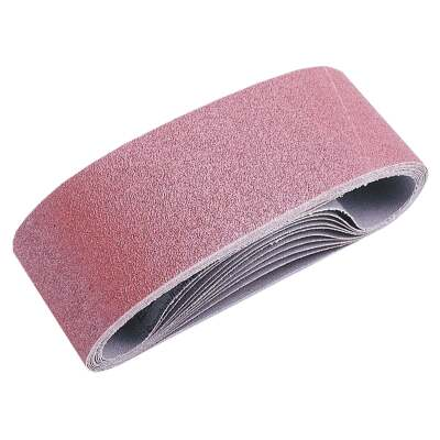 Do it Best 3 In. x 21 In. 50 Grit Dual Direction Sanding Belt (5-Pack)