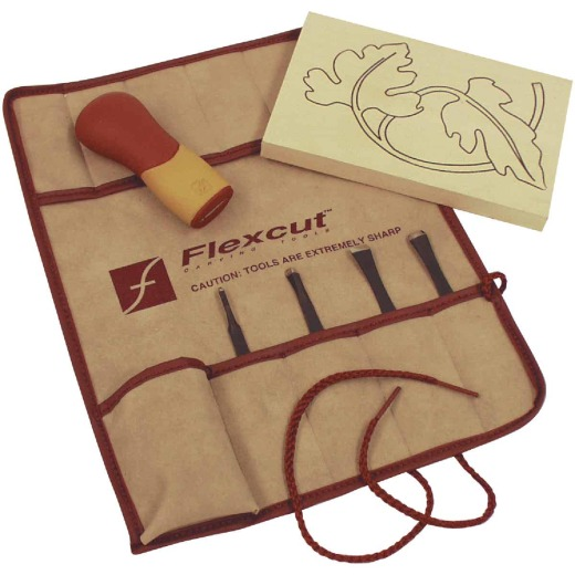 Flex Cut 5-Piece Craft Carving Tool Kit