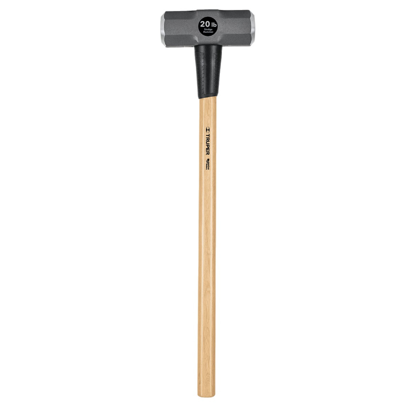 Truper 20 Lb. Double-Faced Sledge Hammer with 36 In. Hickory Handle Image 1