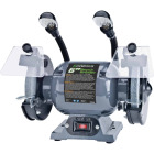Genesis 6 In. 1/2 HP Bench Grinder with Lights Image 1
