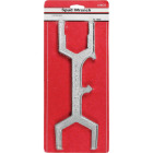 Lasco 11.75 In. Die Cast Bright Plated Plumber's Wrench Image 2