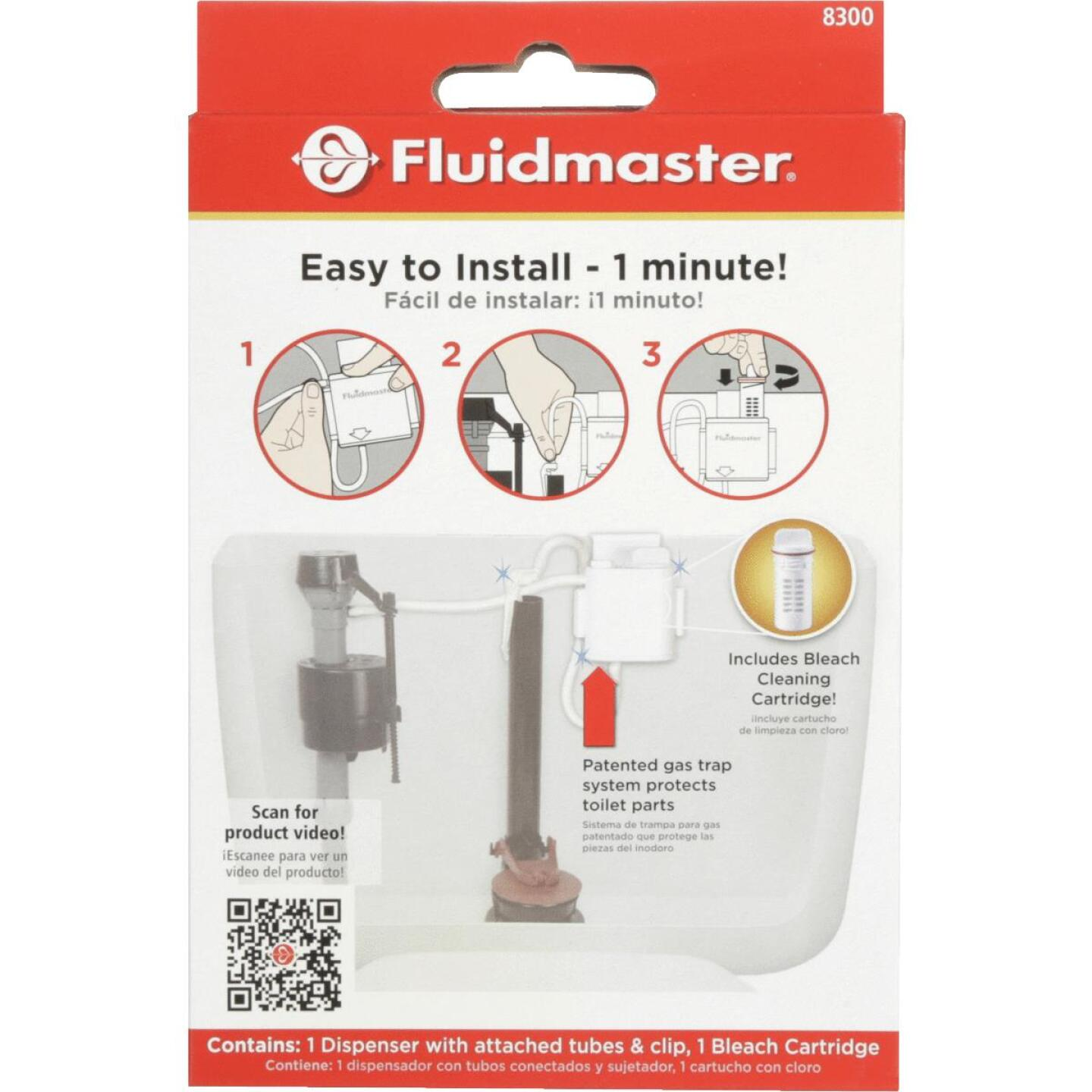 Fluidmaster Flush 'n Sparkle Automatic Toilet Bowl Cleaning System with Bleach Image 2