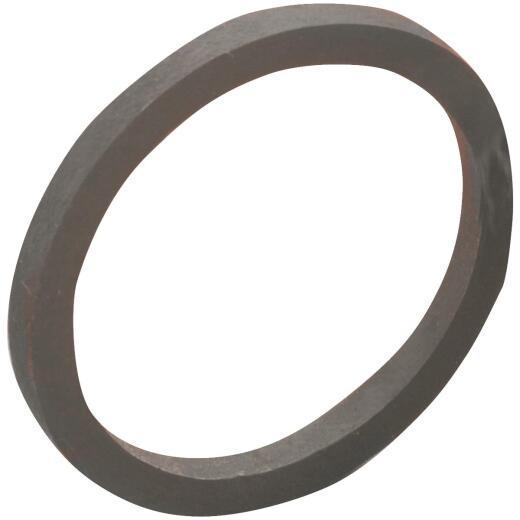 Do it Best 1-1/2 In. x 1-1/4 In. Black Rubber Slip Joint Washer