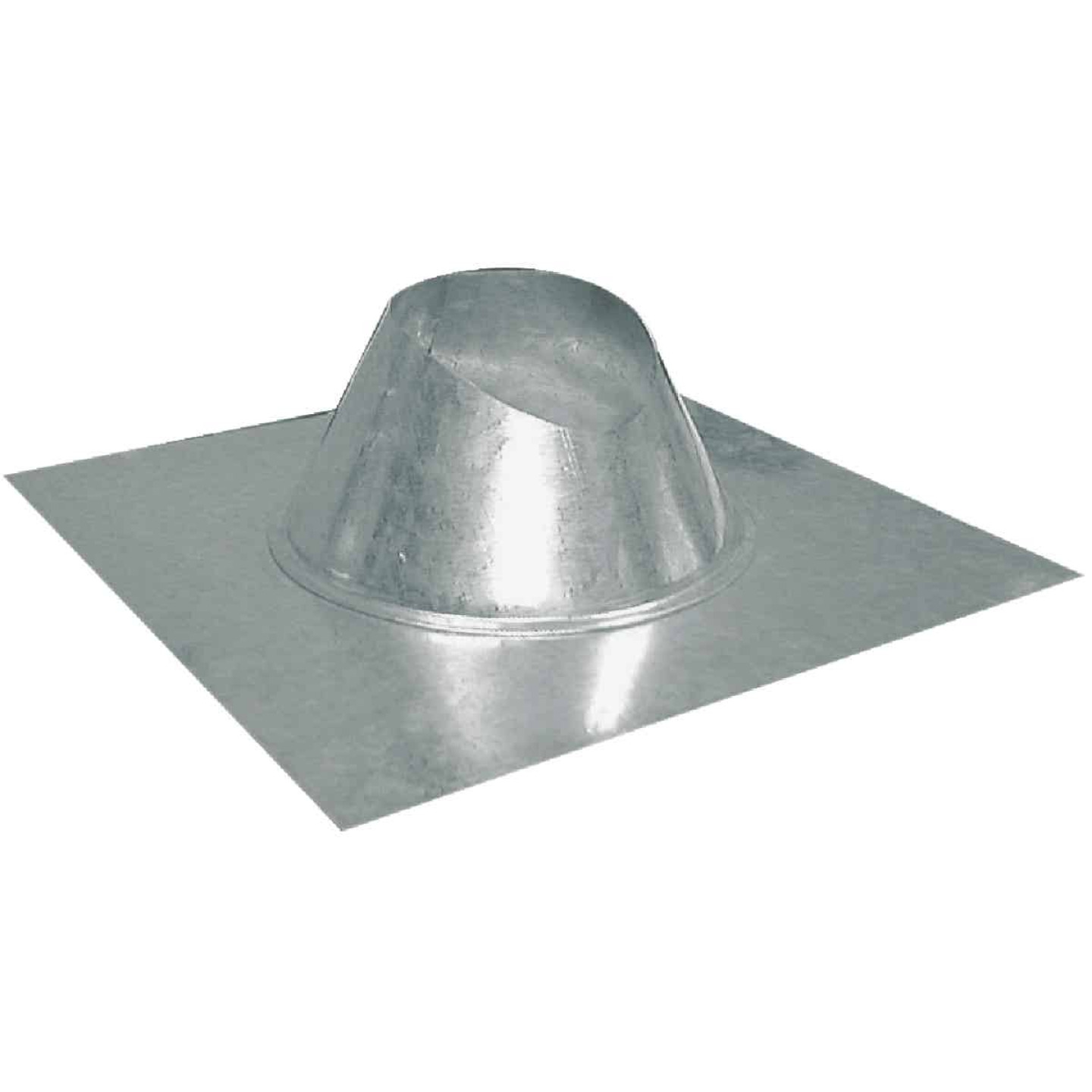 Imperial 5 In. Galvanized Rainproof Roof Pipe Flashing Image 1
