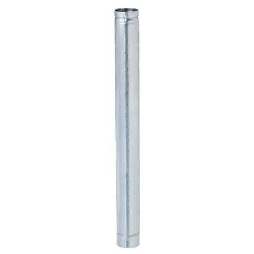 SELKIRK VP Pellet Pipe Type L Insulated 3 In. x 3 Ft. Pellet Stove Pipe