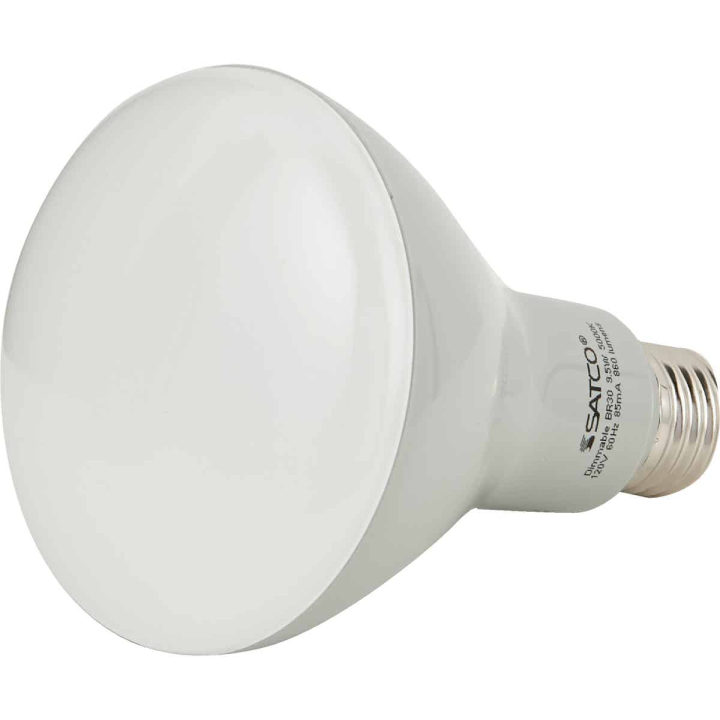 Satco Ditto 65W Equivalent Natural Light BR30 Medium Dimmable LED Floodlight Light Bulb Image 2