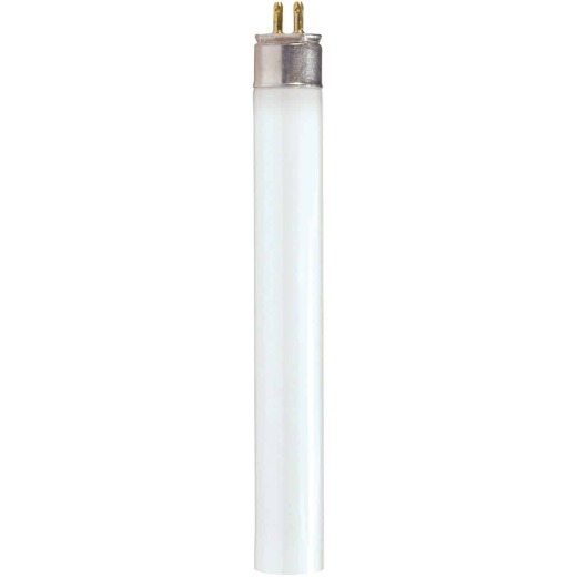 Satco 14W 22.2 In. Warm White T5 Miniature Bi-Pin Fluorescent Tube Light Bulb