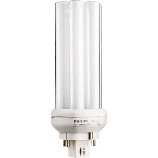 Philips 100W Equivalent Cool White GX24Q-3 Base PL-T CFL Light Bulb