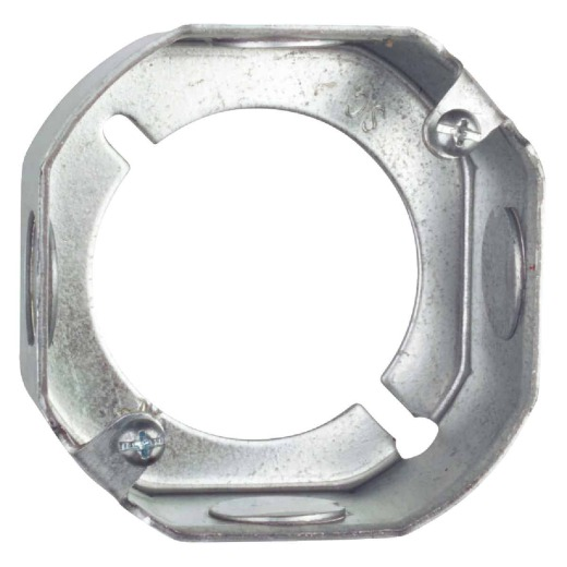 Steel City 3-1/2 In. x 3-1/2 In. x 1-1/2 In. Octagon Box Extension