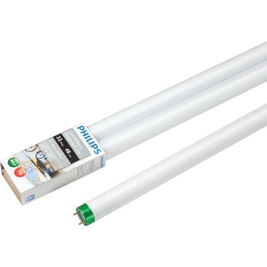 Philips ALTO 32W 48 In. Cool White T8 Medium Bi-Pin Fluorescent Tube Light Bulb (2-Pack)
