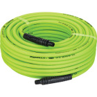 Flexilla 1/4 In. x 100 Ft. Polymer-Blend Air Hose with 1/4 In. MNPT Fittings Image 2