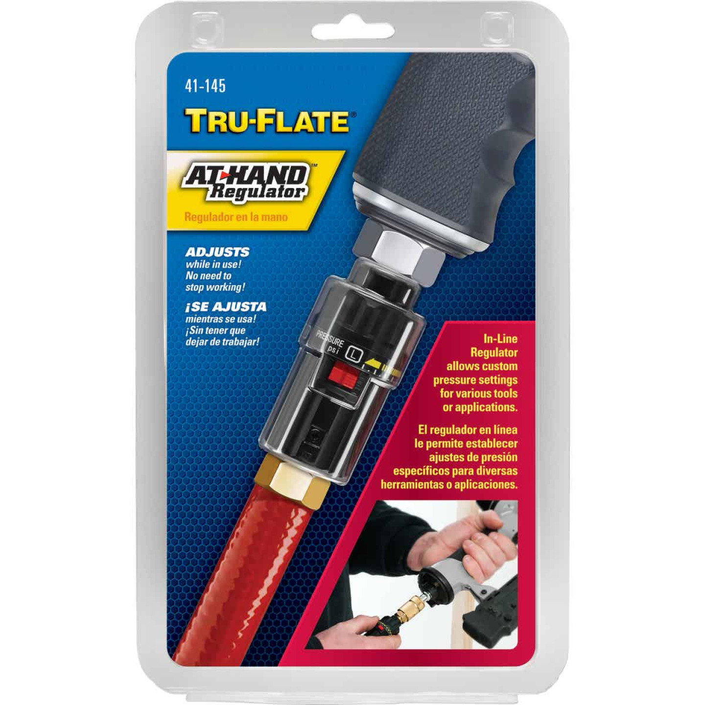 Tru-Flate At-Hand Inline Pressure Regulator Image 1