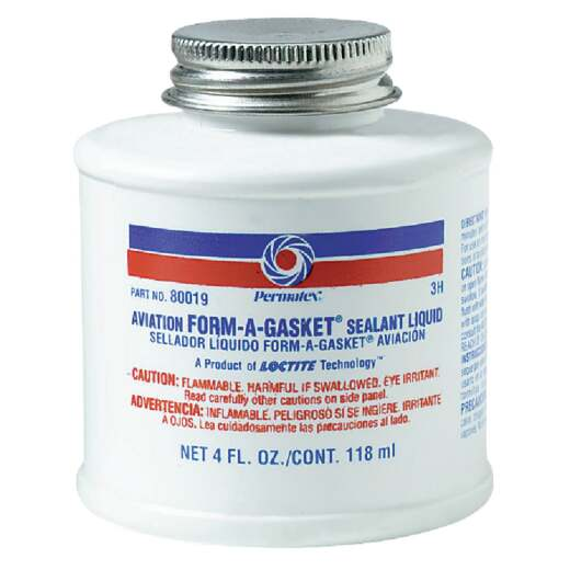 Permatex 4 Oz. Aviation Form-A-Gasket Sealant