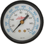 Milton 1/4 In. NPT Back Mount Mini Pressure Gauge Image 1