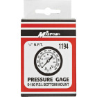 Milton 1/4 In. NPT Bottom Mount Pressure Gauge Image 2