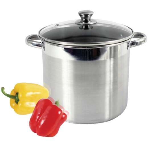 McSunley 16 Qt. Stainless Steel Stockpot