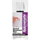 Rejuvenate Grout Renewer Pen, White (2 Count) Image 1