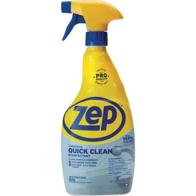 Zep Commercial 32 Oz. Quick Clean Disinfectant Cleaner