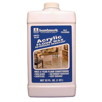 Lundmark 32 Oz. Acrylic Floor Wax
