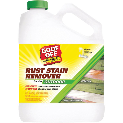 Goof Off 1 Gal. Outdoor Rust Stain Remover