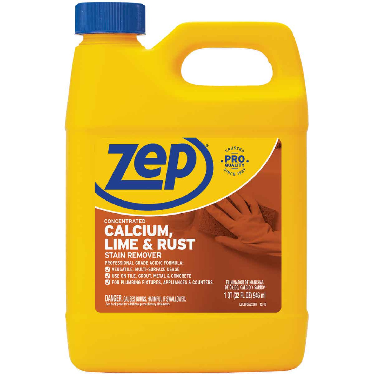 Zep 32 Oz. Calcium, Lime, And Rust Remover Image 1