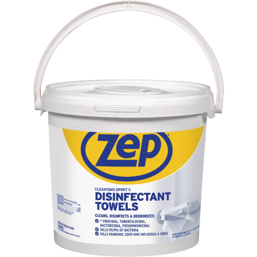 Zep Clean'ems Spirit II Disinfectant Towelettes (300-Count)