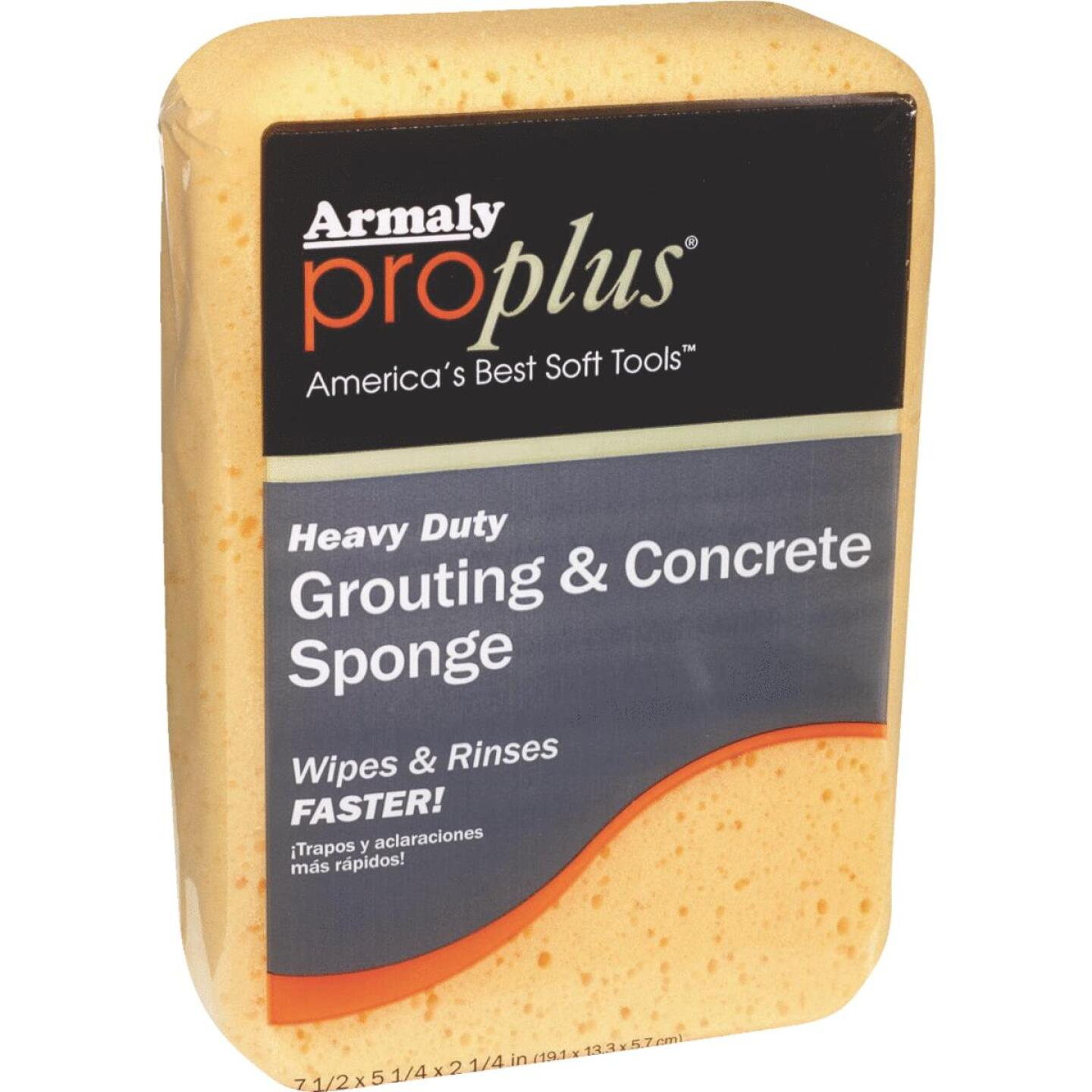Armaly ProPlus 7-1/2 In. L Concrete & Grout Sponge Image 1