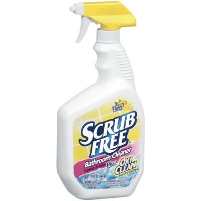 Scrub Free 32 Oz. Bathroom Cleaner Plus OxiClean