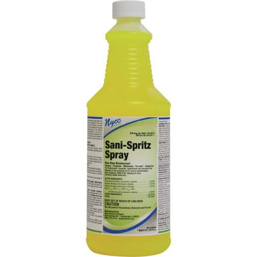 Nyco 1 Qt. Sani-Spritz Spray One-Step Disinfectant Cleaner Refill