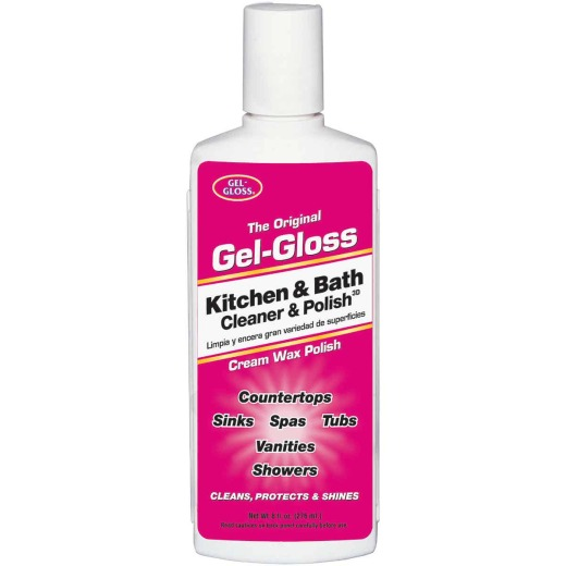 Gel-Gloss 8 Oz. Kitchen & Bath Metal Cleaner & Polish
